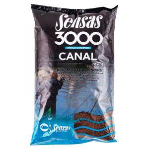 Nada Sensas 3000 Canal Noire (Black) Fine Texture 1kg