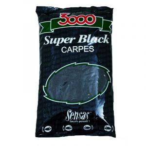 Nada Sensas  3000 Super Black Carpe 1kg