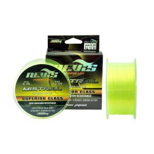 Fir Monofilament Nevis Mistral Fluo Green 300m