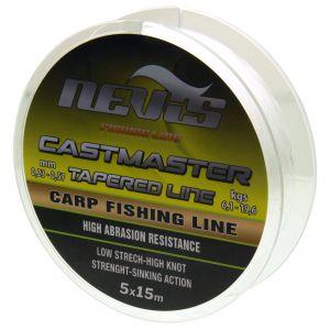Fir Monofilament Nevis Shock Leader Conic Castmaster 5x15m