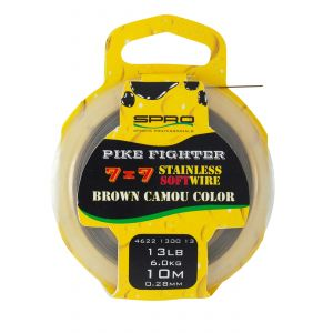 Struna Spro Brown Coated 20m 20Lbs