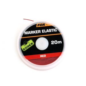 Edges Marker Fox Elastic x 20m Rosu