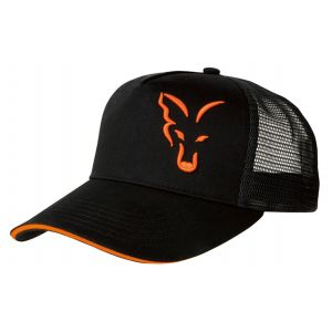 Sapca Fox Trucker Cap Black/Orange