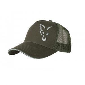 Sapca Fox Green And Silver Trucker Cap