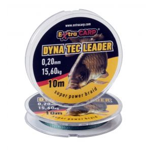 Fir Multifilament-textil  ExtraCarp Dyna Tec Leader 10m
