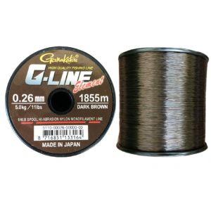 Fir Monofilament Gamakatsu G-line Element Dark Brown 755m-1855m