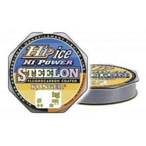 Fir Monofilament Konger-Hi Power Fluorocarbon Cristal Ice 50m