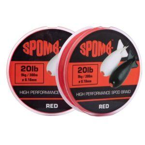 Fir Textil Spomb Braid Red 300m 0.18mm/9kg